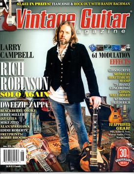 Vintage Guitar - June 2016