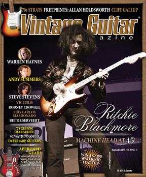 Vintage Guitar - September 2017