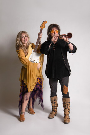 Candice Night and Ritchie Blackmore