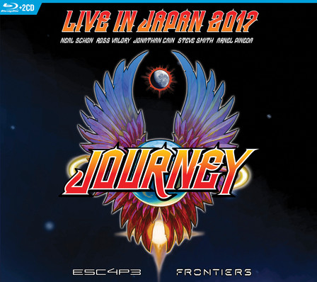Live In Japan 2017 BR+2CD cover art