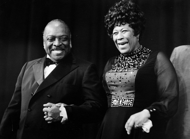 Count Basie and Ella Fitzgerald