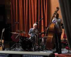 Steve Gadd (drums) and Nathan East (bass)