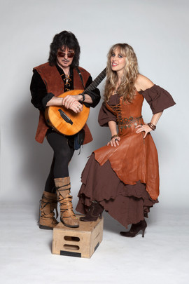 Ritchie Blackmore and Candice Night