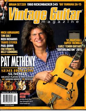 Vintage Guitar - February 2016