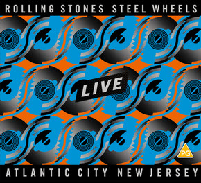Steel Wheels Live cover art