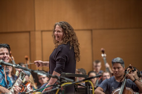 Liza Grossman (conductor - Contemporary Youth Orchestra)