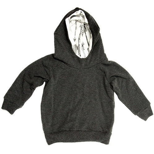 The Charcoal Terry Hoodie