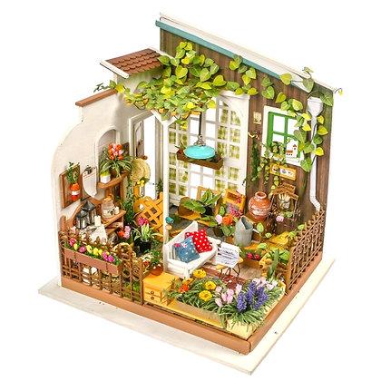 Miller's Garden DIY Miniature Dollhouse Kit