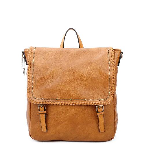 The Carolina Backpack Convertible Light Brown
