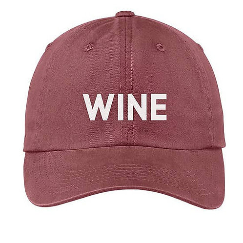 Wine Maroon Baseball Cap