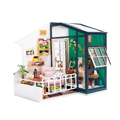 Balcony DIY Miniature Dollhouse Kit