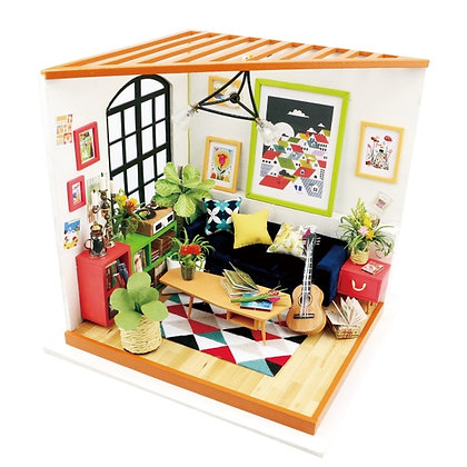 Locus' Sitting Room, DIY Miniature Dollhouse Crafting