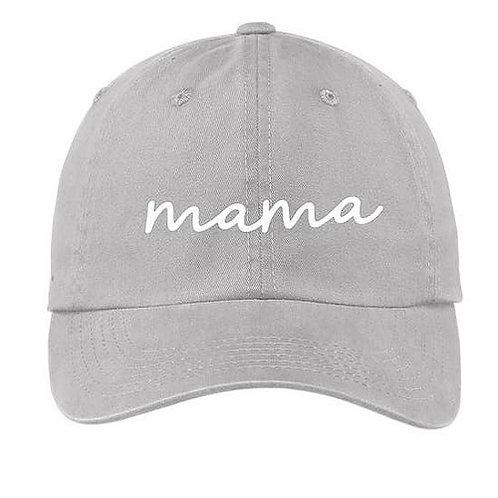 Mama Grey Baseball Cap