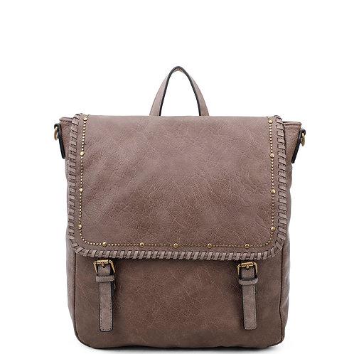 The Carolina Backpack Convertible Taupe