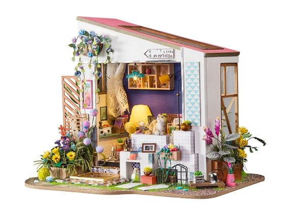Lily's Porch DIY Miniature Dollhouse Kit