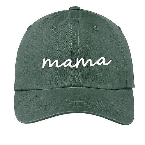 Mama Green Baseball Cap
