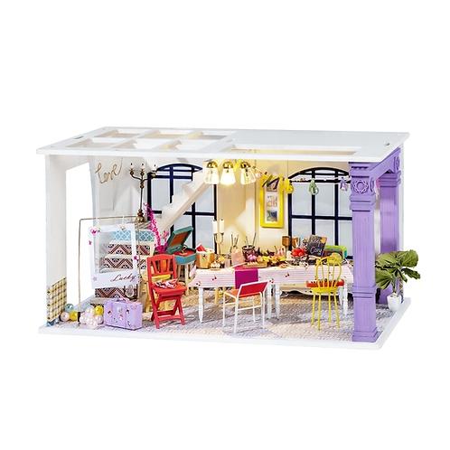 Party Time DIY Miniature Dollhouse Kit