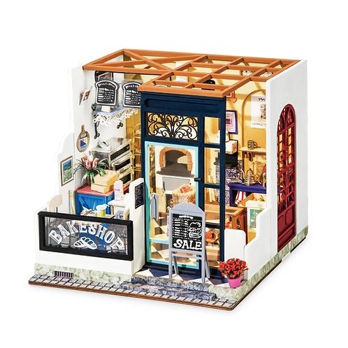 Nancy's Bake Shop DIY Miniature Dollhouse Kit