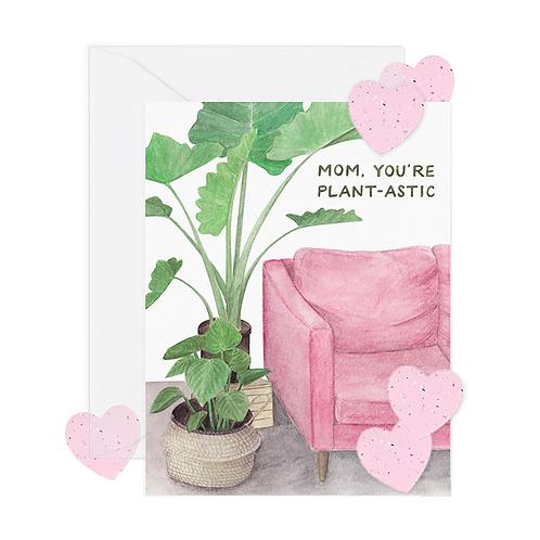 Plant-astic Mom w/ Seed Paper Confetti