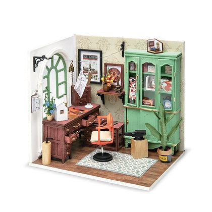 Jimmy's Studio, DIY Miniature Dollhouse Ki