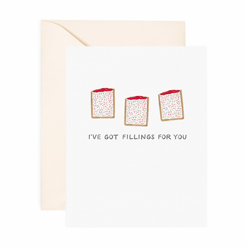 Fillings For You Love Card