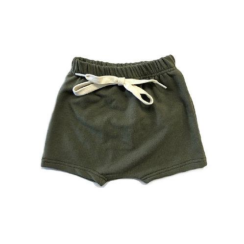 The Olive Harem Shorts