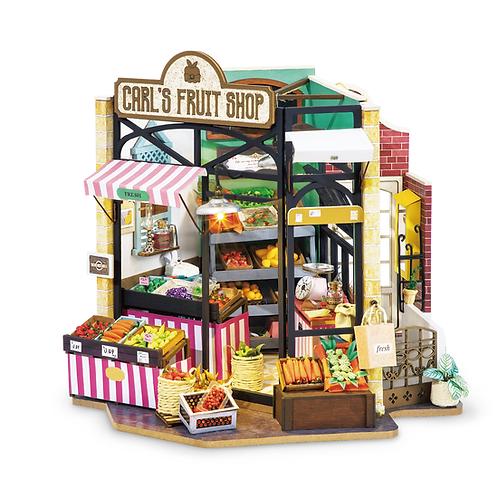Carl's Fruit Shop DIY Mini House Kit