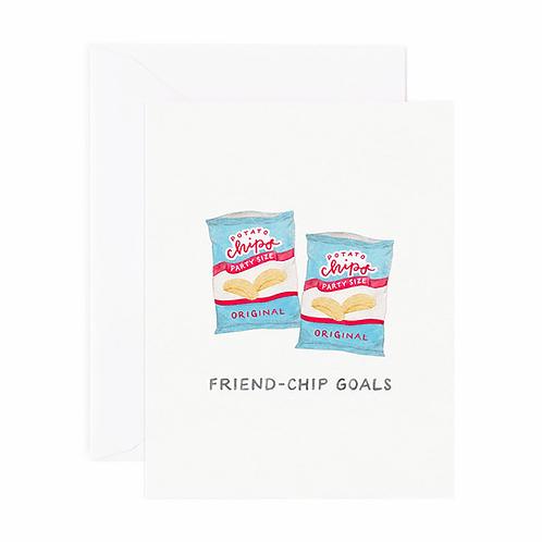 Friend-chip Goals Card
