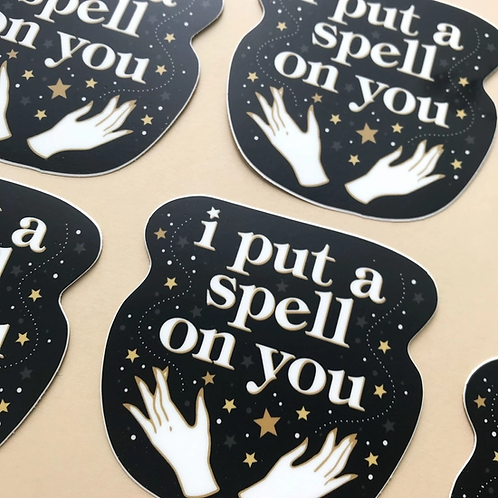 I Put A Spell On You Sticker