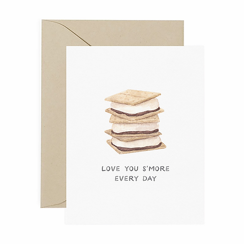 Love You S'more Anniversary Card