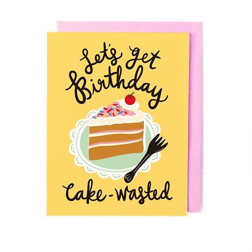 Cake Wasted Card