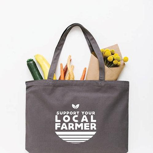 Local Farmer Tote Bag