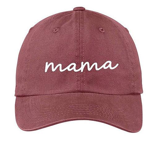 Mama Maroon Baseball Cap