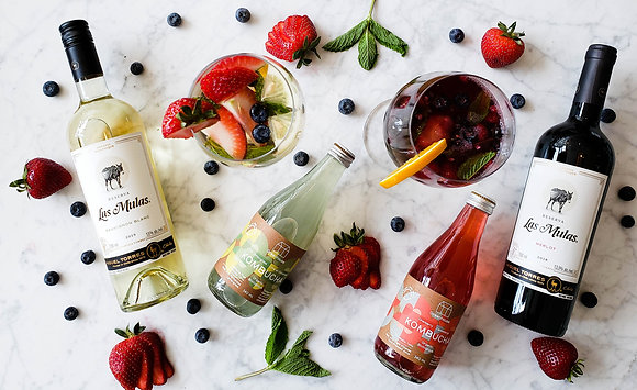 Organic Red Wine Sangria Kit
