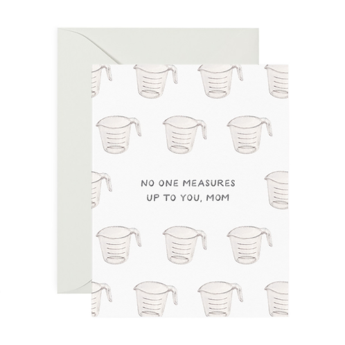 Measures Up Mother's Day Card