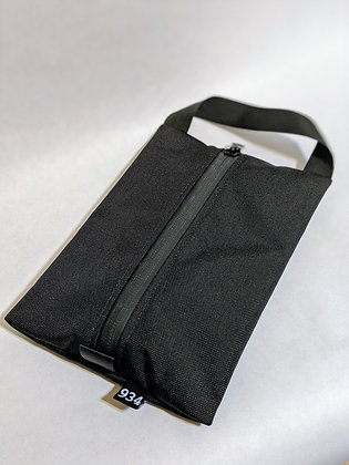 Center Zip Carryall Pouch: Made to order