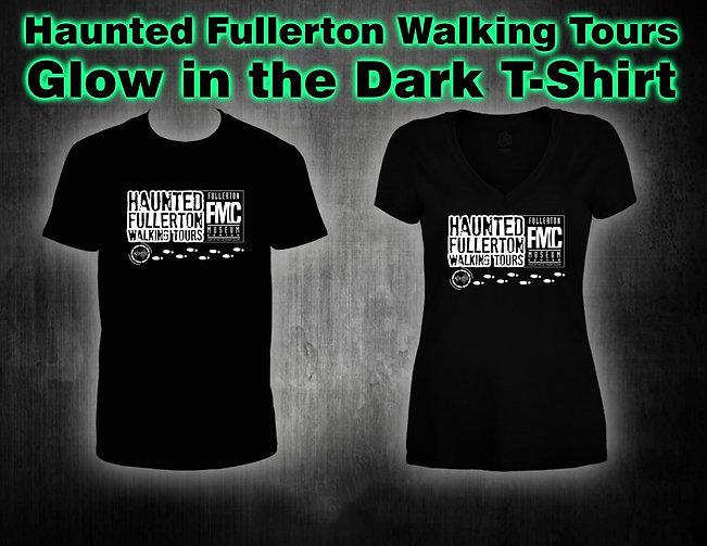 Haunted Fullerton Walking Tours Men/Women Collectors T-shirt