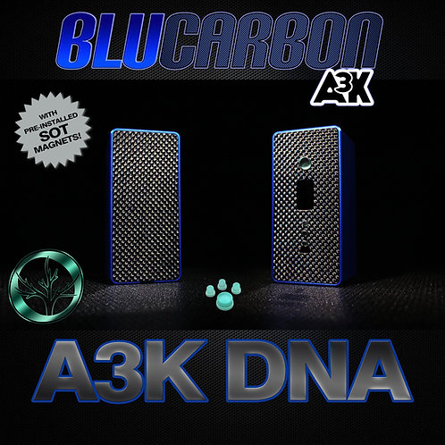 A3K DNA BLU CARBON WITH BUTTONS