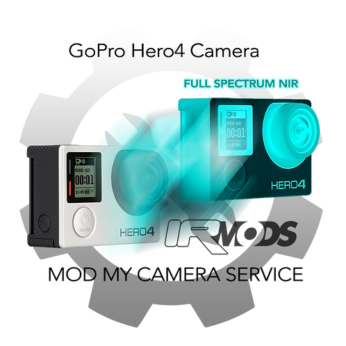 GoPro Hero4 Silver/Black Camera Conversion Service