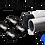 "Thumbnail: Track Cap 1-1/4"" Speed-rail Camera Slider protective caps"