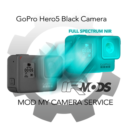 GoPro Hero5 Black Camera Conversion Service