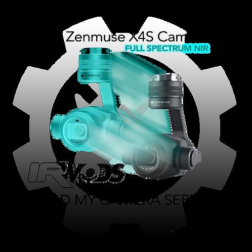 DJI Inspire2 Zenmuse X4S FS Camera Conversion Service