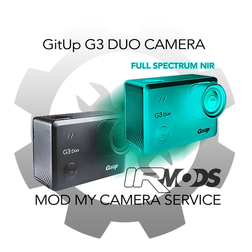 GitUp G3 Duo Main Camera Conversion Service