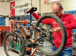 Riparazione e bike