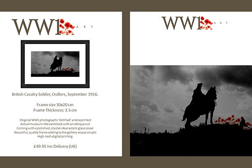 copy of WW1 Art framed digital print