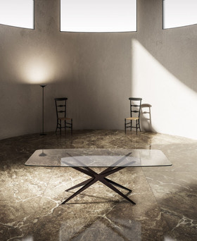 Stern dining table