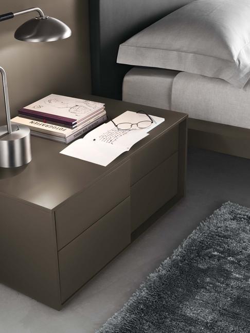 Jesse Plan 2 drawer bedside