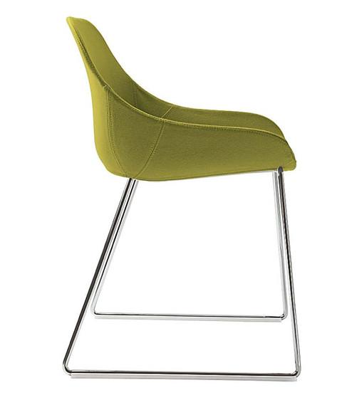 Biba sled chair