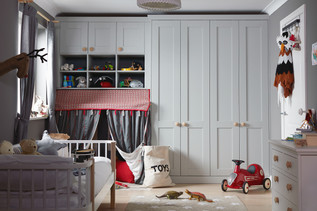 kindred wardrobes Origin Partridge Grey