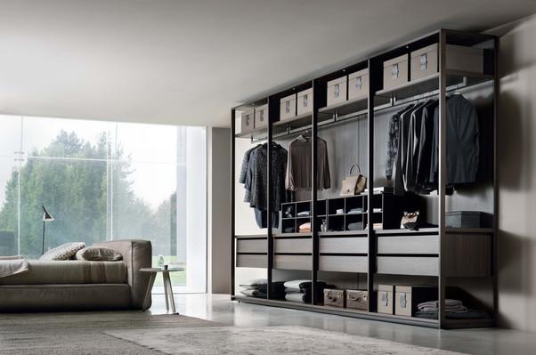 PASS framed walk in wardrobe